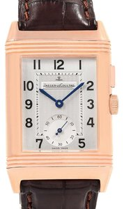 Jaeger-LeCoultre Jaeger LeCoultre Reverso Duo Second Time Zone Rose Gold Watch 272.2.54