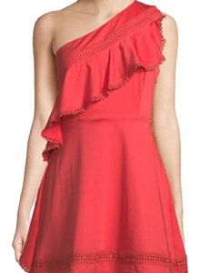 Red Carter short dress Coral on Tradesy