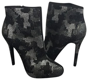 Report Signature Black & White Crystals Boots