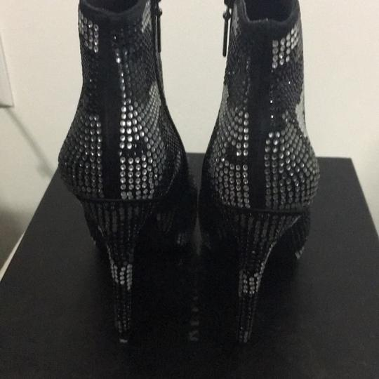 Report Signature Black & White Crystals Boots Image 3