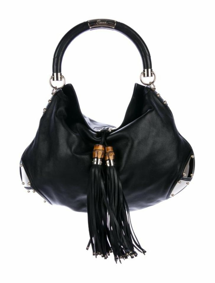 b1cb8fdfc Large Black Leather Hobo Purse - Best Image Home In Ccdbb.Org