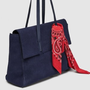 b400cfd3 Blue Zara Bags - 70% - 90% off at Tradesy