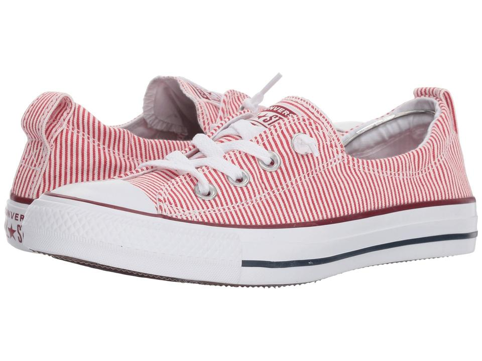 Converse Chuck Taylor All Star Shoreline Women's Red White Sneakers Size US 6.5 Regular (M, B)