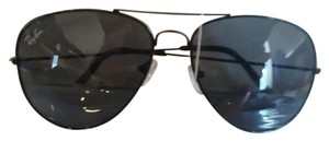 Ray-Ban Ray-Ban RB3026 Aviator Sunglasses - Black