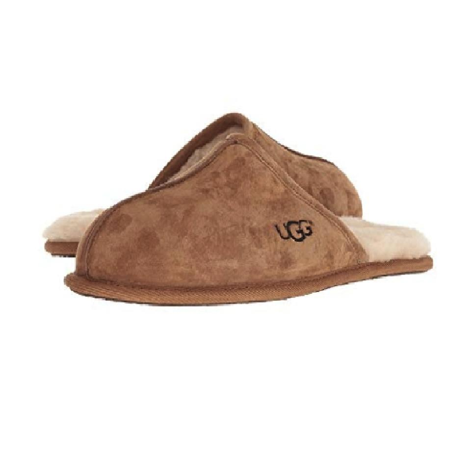 5ea49095c62d2 UGG Australia Chestnut Men s Scuff Slipper 1101111 Boots Booties ...