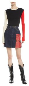 Calvin Klein 205W39NYC Mini Skirt navy/red
