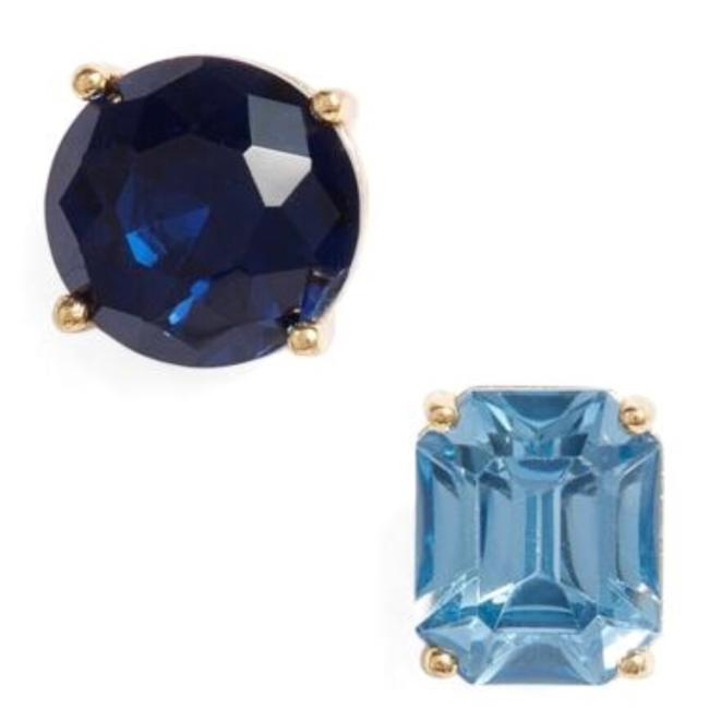 Kate Spade New York Mismatched Faceted Stud Earrings Kate Spade New York Mismatched Faceted Stud Earrings Image 1