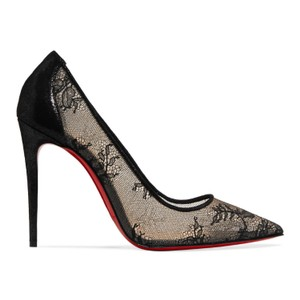 88c27debf4c 554 100 Lace and Lame Pumps