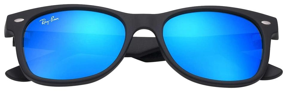e951b4016e Ray-Ban Kids New Wayfarer Rj9052s 48mm Mirror Blue Sunglasses - Tradesy