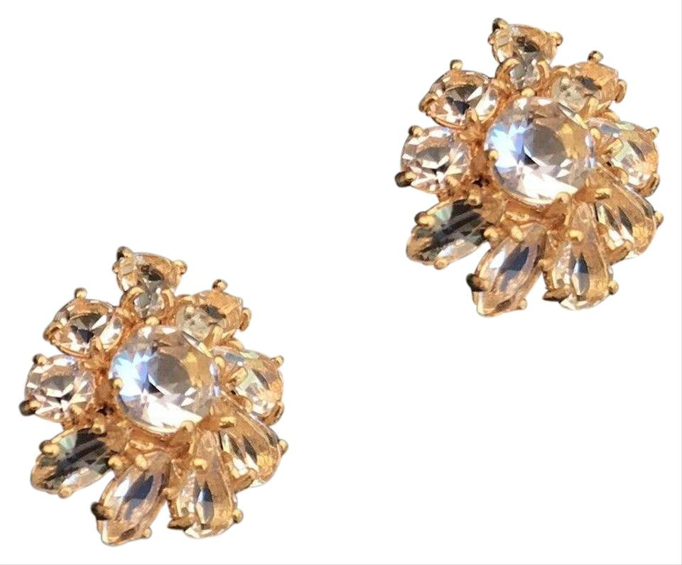 a97319aee J.Crew J.CREW Gold Sparkle Stud Hypoallergenic Earrings Image 0 ...