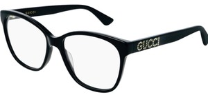 Gucci gg0421o Cat Eye Optical with Crystal Embellished Temples