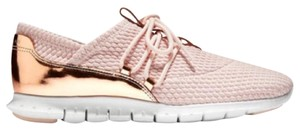 Cole Haan Zerogrand Oxford Metallic Pink Rose Gold Athletic