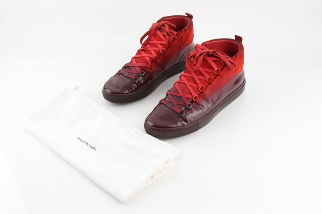 Item - Red Ombré Arena High-top Sneakers Shoes