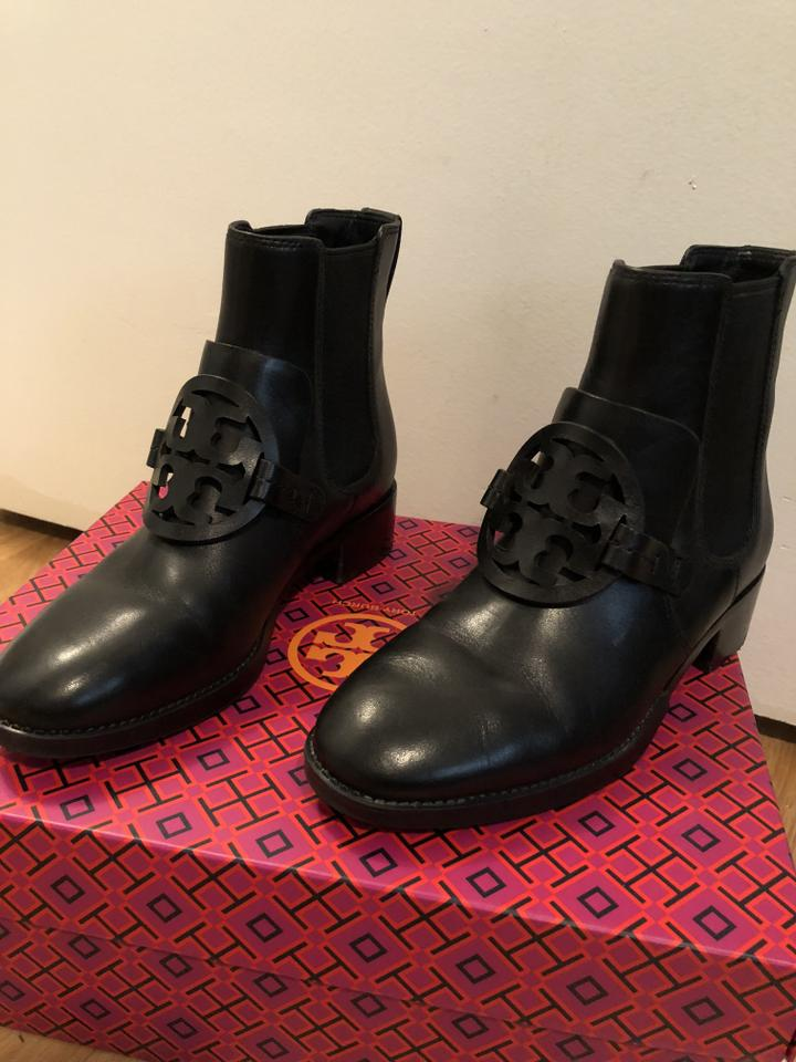451c0b2cdea Tory Burch Black Miller 25 Style No 40371 Boots Booties Size US 5 ...