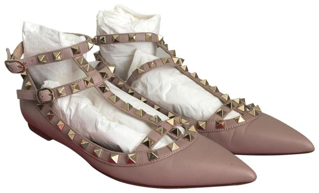 Item - Nude Poudre Cage Ballerina Flats Size EU 36.5 (Approx. US 6.5) Regular (M, B)