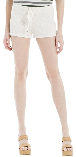 Item - Beige Womens Knit Flat Front Pull On Shorts Size 4 (S, 27)
