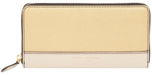 Marc Jacobs Marc Jacobs Metallic Leather Continental Wallet