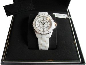 Chanel CHANEL J12 CERAMIC 38mm AUTOMATIC WATCH LIKE NEW IN BOX
