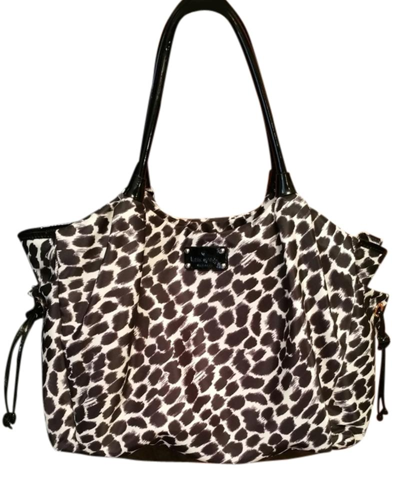 Kate Spade Stevie Animal Print Diaper Bag
