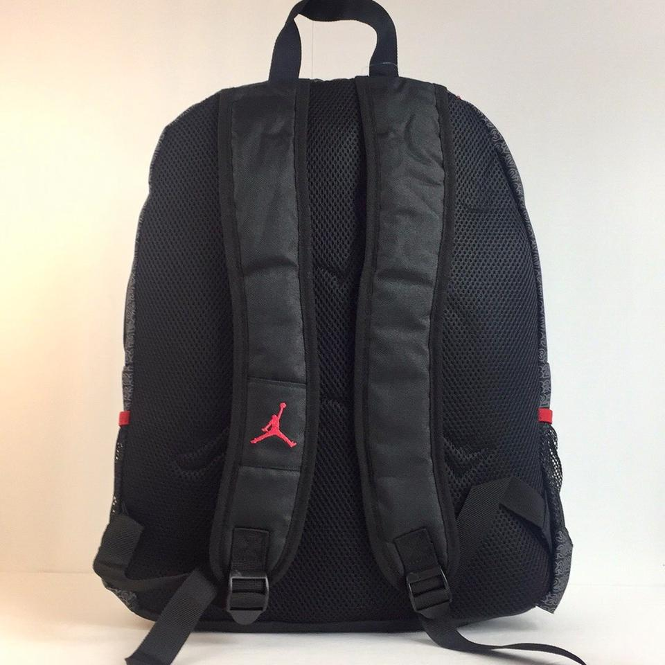 Air Jordan New Nike Jumpman Flight Laptop Bottle Pocket School ...