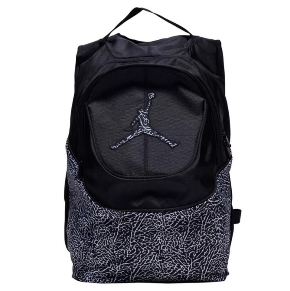 41c10e6d839 Air Jordan New Nike Jumpman & White Leopard Laptop School Unisex ...