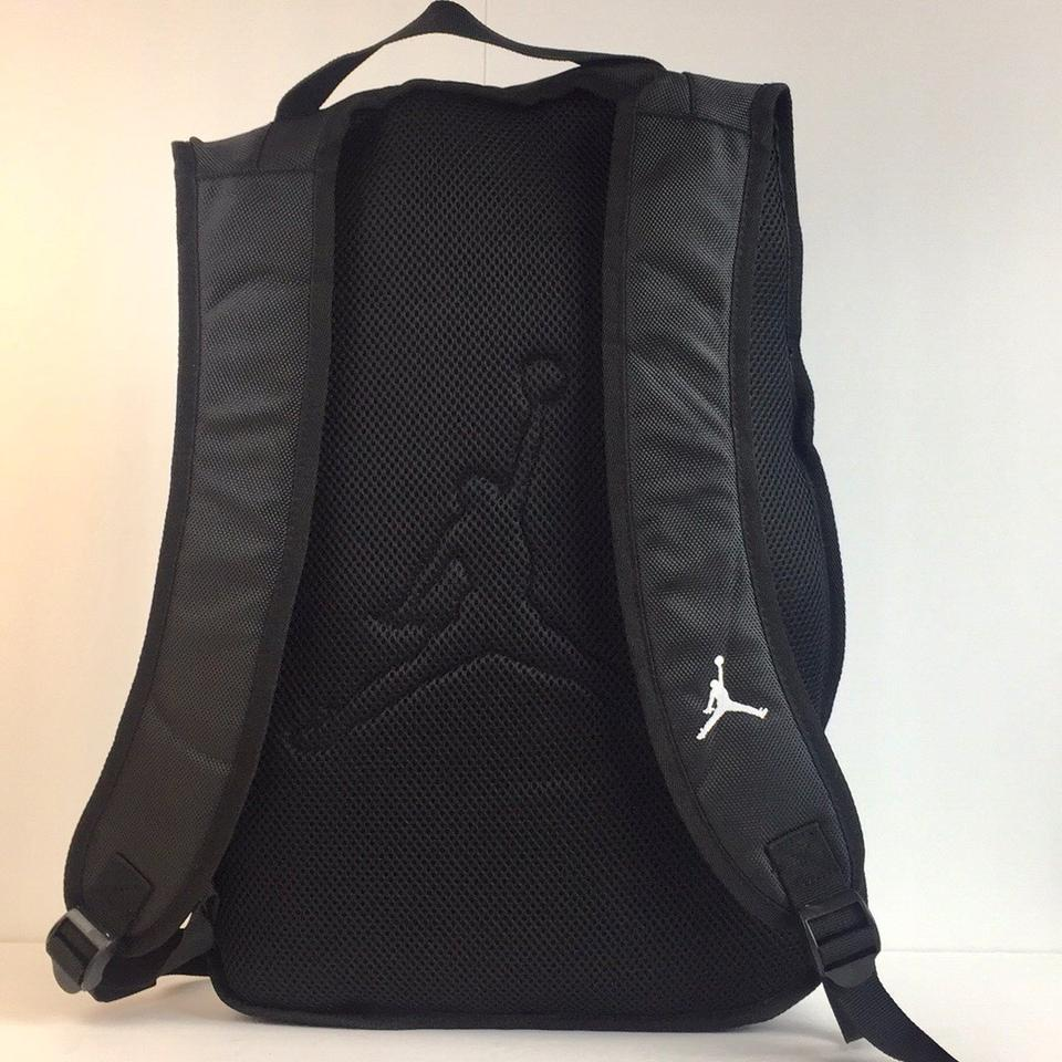 e8fcbc9e21b8 Air Jordan New Nike Jumpman   White Leopard Laptop School Unisex Gray Black  Nylon Backpack - Tradesy
