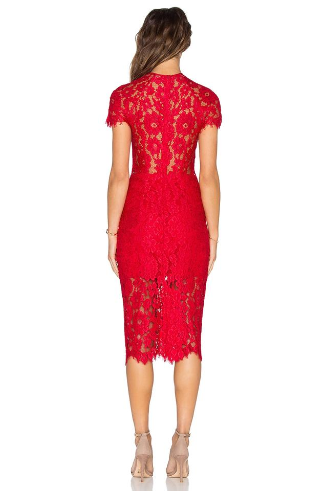 a4b98377419 Alexis Red Leona Mid-length Cocktail Dress Size 2 (XS) - Tradesy