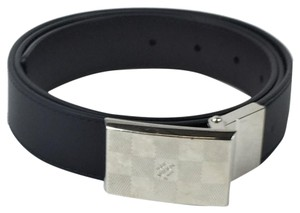 Louis Vuitton Louis Vuitton Brown/Black Reversible Damier Men's Belt 30mm Sz 34-38