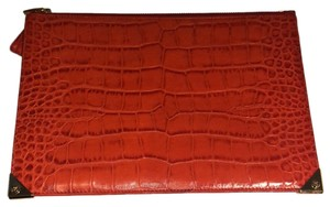 Alexander Wang Orange Clutch
