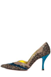 Christian Lacroix Multicolor Pumps
