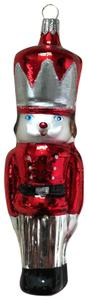 Lord & Taylor Glass Nutcracker Christmas Decoration Winter Charms