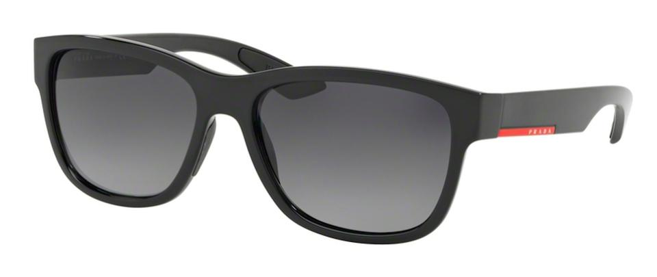 09505f90d64 Prada Black Polarized Lens New Classic Sps 03q 1ab5w1 Free 3 Day Shipping  Made In Italy Sunglasses 58% off retail