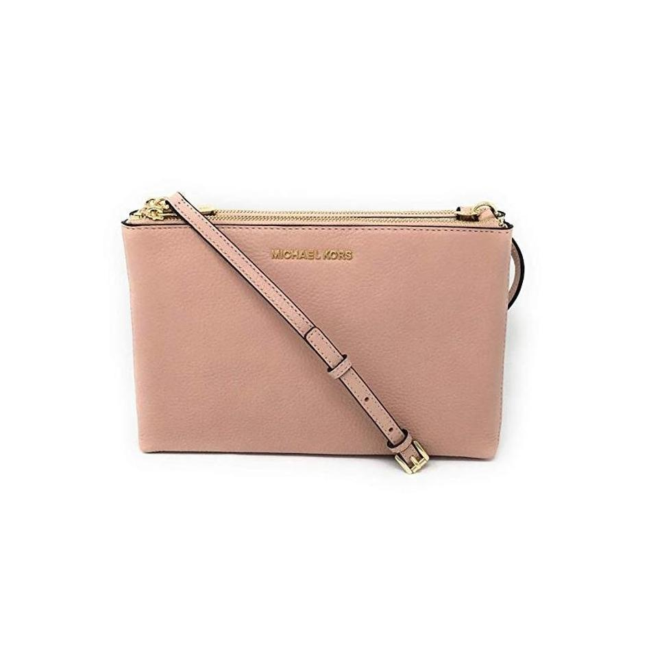 68fa0238fa8a Michael Kors Jet Set Double Gusset New With Tag Cross Body Bag Image 0 ...