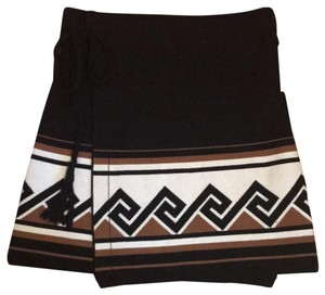 Talula Mini Skirt Black/Brown/White