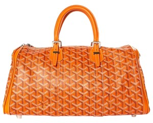 Goyard Satchel in orange
