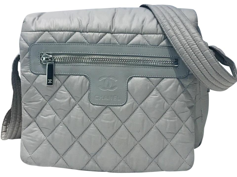 862175b35854 Chanel Messenger Cocoon Coco Beige Nylon Cross Body Bag - Tradesy