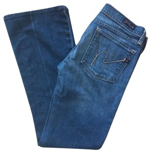 Citizens of Humanity Kelly Stretch 27 X 29 Boot Cut Jeans-Light Wash