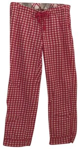 J.Crew Relaxed Pants Bright pink gingham