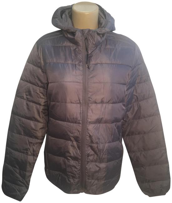 Item - Gray Puffer Jacket Size 6 (S)
