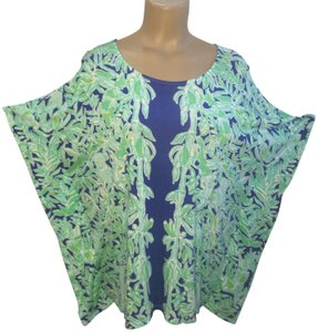 Lilly Pulitzer Top Green & Blue