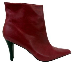 Candie's Fashion Ankle Red Boots