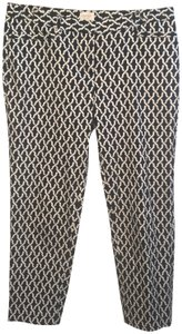 Laundry by Shelli Segal Capris Black & White