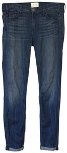 McGuire Roll Up Ankle Skinny Jeans-Medium Wash