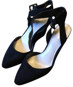 Nine West Black Wedges