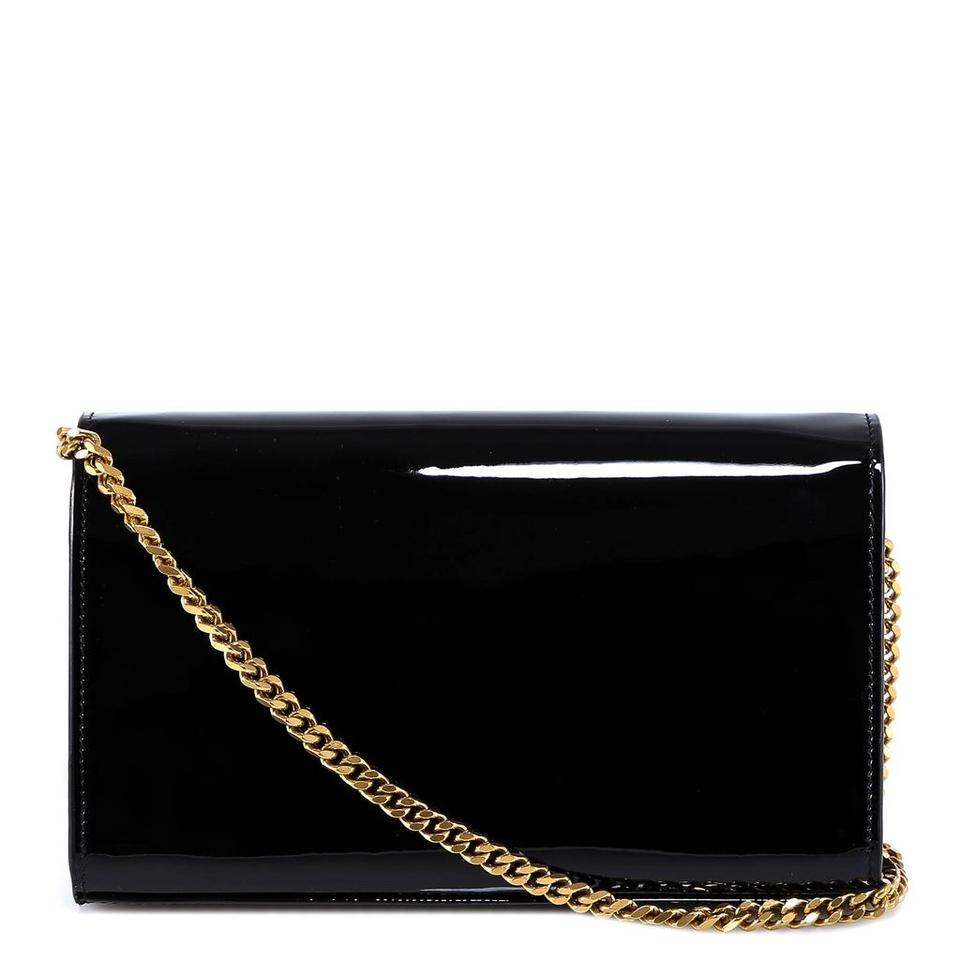 Saint Laurent Envelope Chain Wallet Bnwt Gold Hardware