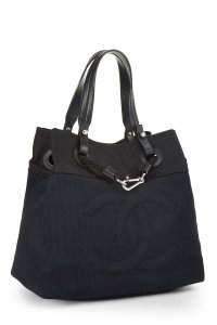 Chanel Beach Boating Yacht Tote in Navy