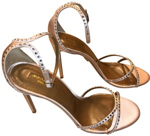 Aquazzura Antique Rose Sandals