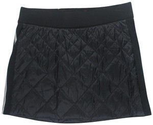 Alp-n-Rock Down Warm Cute Mini Skirt Black