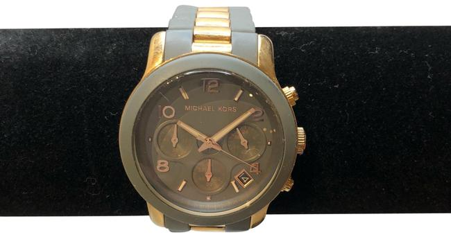 Item - Rose Gold and Gray Watch