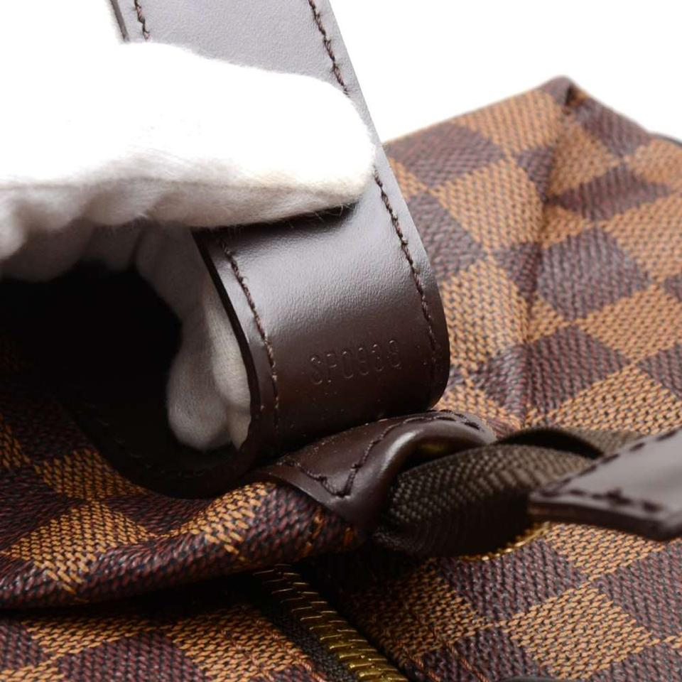 fe3caf872f16 Louis Vuitton Vintage Grimaud Damier Ebene Handbag Brown Canvas ...